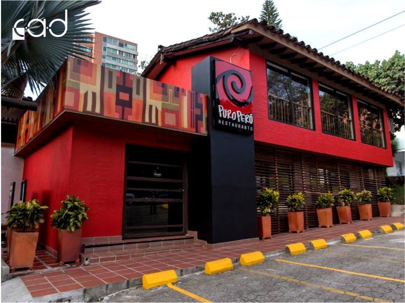 Restaurante puro per dise o interior y decoraci n for Decoracion de interiores medellin